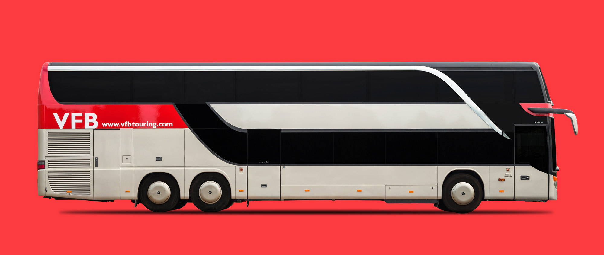 Premium 16 Berth Sleeper Bus Hire Vfb Touring